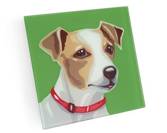 Set of 4 Jack Russell Coasters