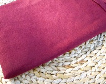 Port Bamboo Organic Cotton Jersey Fabric 1 2/3 yards