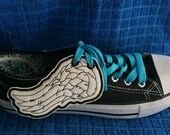 Daryl walking dead inspired angel shoe wings (finished item)