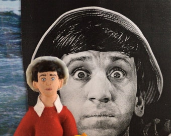 Bob Denver Doll Miniature Television Comedy Sitcom Actor Fan Art Character