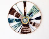 ON HOLD Vintage Wool Weaving - dream catcher