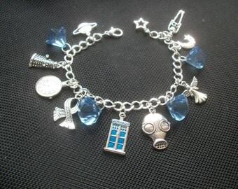 Dr WHo Themed Charm Bracelet
