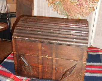 Primitive Chest Made With Old Sticks  REDUCED