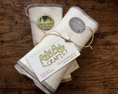 20 Organic Cotton Fleece Wipes
