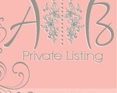 Private Listing for Amanda