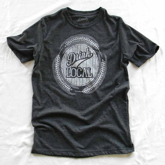 Drink Local - mens crew neck