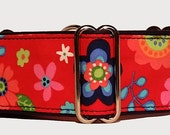 Flower Power Martingale Collar-