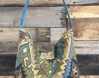 Large Native American Hobo Shoulder Bag