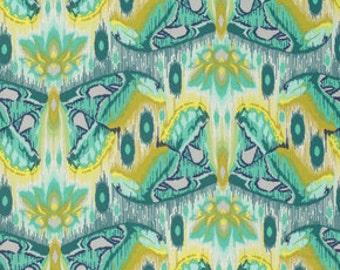 Tula Pink Butterfly Sapphire Atlas Eden  Freespirit Fabric 1 yard