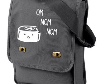 Cute Sushi Messenger Field Bag - japanese food kawaii sushi bag cute school bag anime crossbody bag hipster