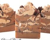 Almond Biscotti Artisan Vegan Soap, handmade soap, cold process soap, vegan soap, almond soap
