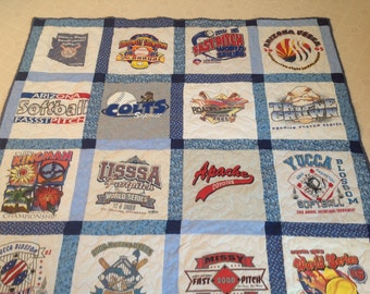 Full size 20 tshirt quilt