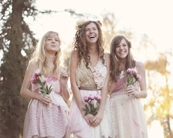 Deposit for Caitlyn Beaird's Custom Bridesmaids Dresses & Flower Girl Dress