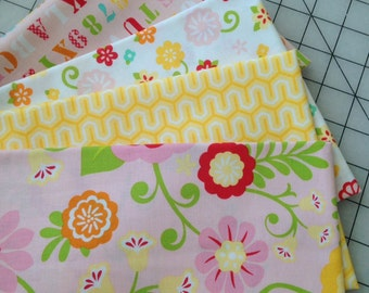 Fat Quarter Bundle from The Simply Sweet Collection by Lori Whitlock for Riley Blake Fabrics - 1 yard total