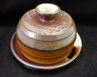 WheelWorksPottery - Butter Dish - Moonlight