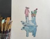 Custom Watercolor!