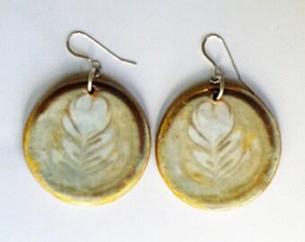 Dotties Latte earrings