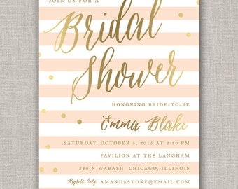 Bridal or Baby Shower Invitation
