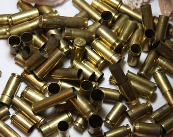 BULLET Casings- Gun- Bullet Shells (100) Repurpose for Jewelry or Art Supply