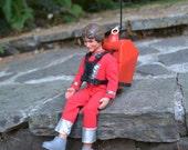Vintage 1978 Mork Figure with Talking Spacepack, Robin Williams