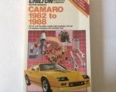 Chilton Camaro Guide 1982 -1986 Repair Guide