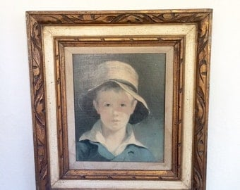 Oil Portrait of a Boy