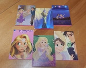 Up cycled Note Pads Party Favors Disney Tangled
