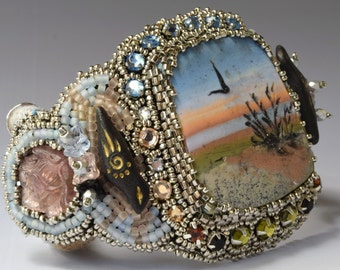 Beachside sunset cuff