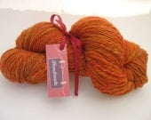 Hand Spun Merino! -  Sunset colorway - 156 yards