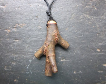 Unique Natural Wood Pendant - Willow - to Honour your Inner Moon Goddess.