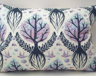 "Aromatherapy Tree of Life Decorative Throw Pillow - Lavender Buckwheat Neck Roll  - Lumbar or Nursing Support - 13 1/2"" X 8 1/2"""
