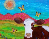 Magnet : Sweet Cow #21-M
