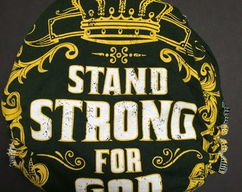 MamaBear One Size Fitted Cloth T-shirt Diaper - Stand Strong for God