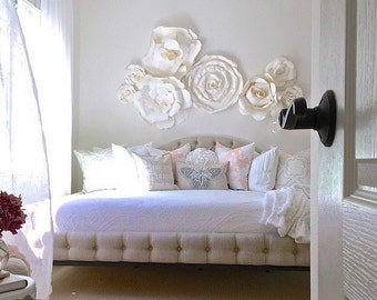 Beautiful Paper Flower Wall Arrangement