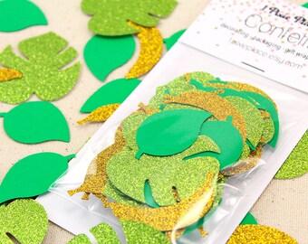 Jungle Safari Glitter Confetti - Table confetti, Party Decorations