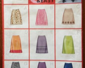 Butterick 6834 Size 6 to 10 Misses'  Skirt Pattern UNCUT