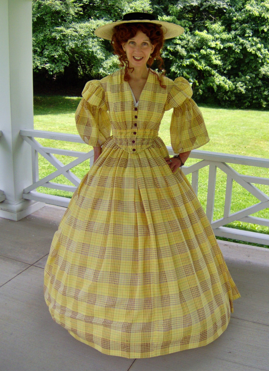 FOR ORDERS ONLY Custom Made 1800s Victorian Dress 1850s 1860s