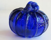 Cobalt Blue Blown Glass P...