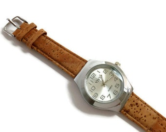 Watch with Cork bracelet W011