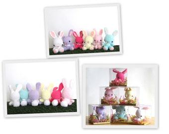 Amigurumi Bunny, Crochet Bunny, Easter Bunny