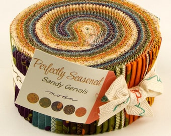 Jelly Roll - Perfectly Seasoned by Sady Gervais for Moda