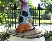 Sally Stitches Halloween Witch Hat SUPER SALE