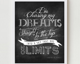 Typographic Print, Digital Print Typography, Inspirational Quote Wall Decor, Wall Hanging, Inspirational Quote Wall Art Digital Print
