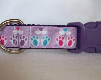 Bunny Dog Collar, In M, L, XL