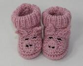 Baby Piggy Boots knitting pattern by madmonkeyknits - instant digital file pdf download knitting pattern