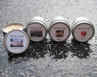 WASHINGTON  SAMPLER (four 2-oz soy candles)