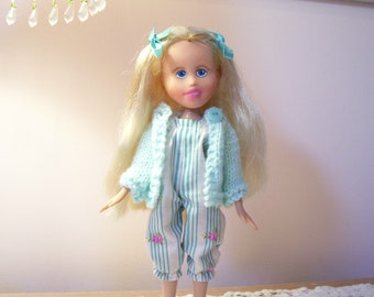 Hi Meet Alice..bratz make under doll...Doll, Romper and Sweater