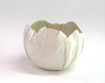 hand built porcelain balloon bowl