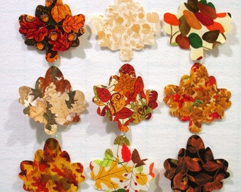 Autumn Leaves Iron On Appliques