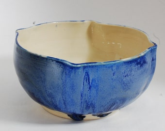 Cobalt Bowl Blue 4 Point Bowl